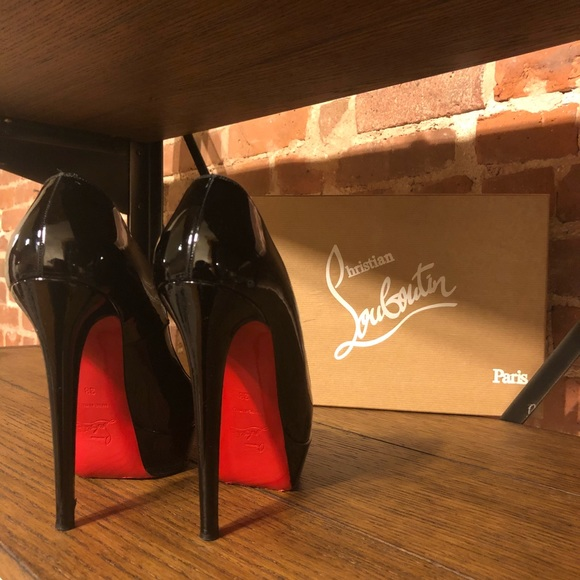 647bee5a29d Authentic CL Bianca 140mm Patent Leather Pump